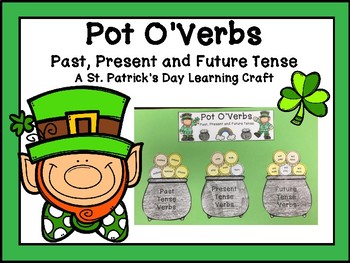 Verb Tenses St. Patrick's Day Learning Craft