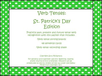 Verb Tenses: St. Patrick's Day Edition