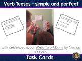 Verb Tenses Task Cards