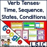 Verb Tenses Times, Sequences, States Conditions Google Drive Activities 5.L.1.C