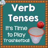 Verb Tenses Trashketball Review Game