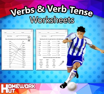 Verbs and Verb Tense Worksheets