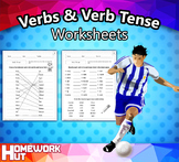 Verbs and Verb Tense Worksheets