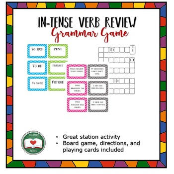 Verb Tenses and Types Review Game
