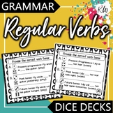 Regular Verbs: Past Tense Verbs, Future Tense Verbs, Present Progressive Verbs