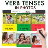 Verb Tenses in Photos (Sequencing) + NO PRINT + BOOM Cards