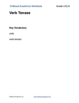 Verb Tenses including Irregular Verbs