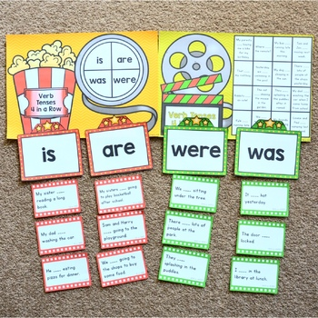 Verb Tenses - is, are, was, were