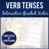 Verb Tenses - simple and perfect Pixanotes®