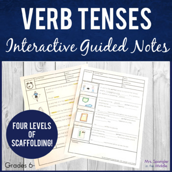Verb Tenses - simple and perfect Pixanotes™