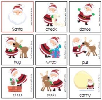 Verb Tenses with Santa (FREE)