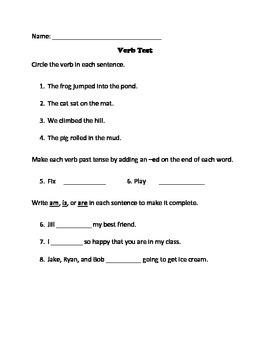 Verb Test