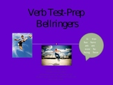 Verb Test Prep Bellringers Powerpoint