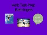 Verb Test Prep Bellringers Powerpoint