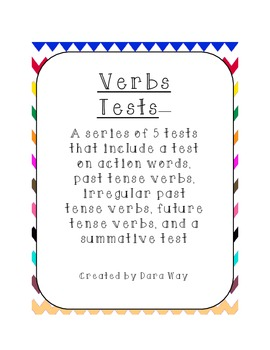 Verb Tests