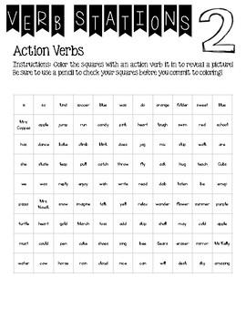 Verb Type Station (Helping, Linking, Action, Irregular