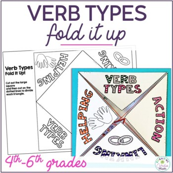 Verb Types Fold It Up