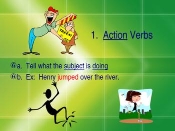 Verb Types Package