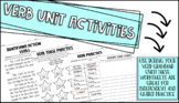 Verb Unit Activities/Worksheets
