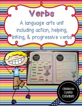 Verb Unit-  Notes, Practice, and Unit Test included