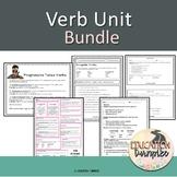 Verb Unit PowerPoint and Companion Bundle
