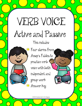 FREEBIE: Verb Voice: Active and Passive Voice Grammar Cafe