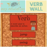 Verb Wall | Parts of Speech Posters | Grammar Posters |  V