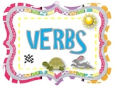 Verb Word Wall: Action, Linking and Helping Verbs