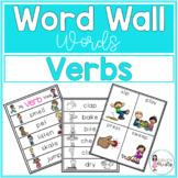 Word Wall Words_Verbs