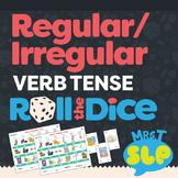Regular/Irregular Verb Tense: Roll-the-Dice Games