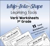Verb Worksheets for 1st Grade!