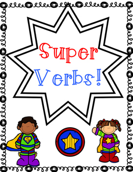 Verb Writing: Superhero Edition