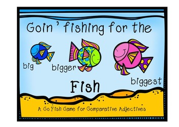 "Verb and Adjective ""Fishy"" Games"
