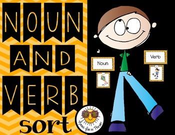 Verb and Noun Sort