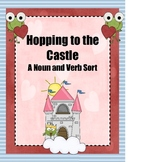 Verb and Noun Sort Hopping to the Castle