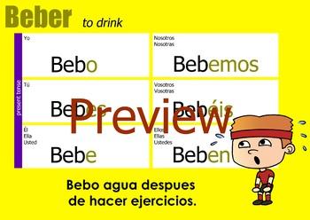 Verb chart - Beber