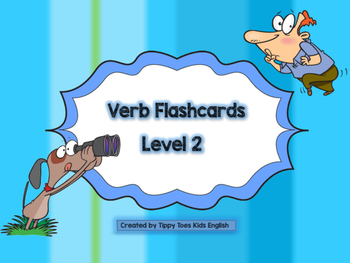 Verb Flash Card Level 2