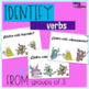 Verb identification and tense flashcards, worksheets, and activities in Spanish