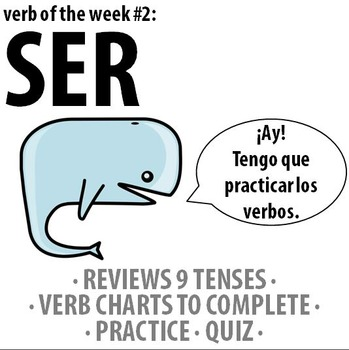 Spanish - Verb of the week: SER