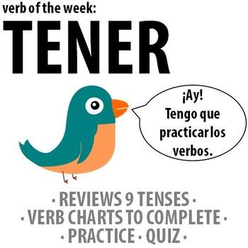 Spanish - Verb of the week: TENER