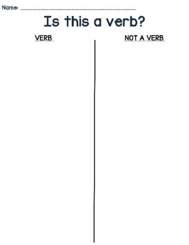 Verb or Not?
