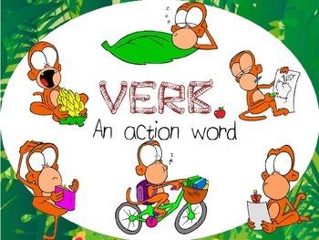 Verb poster