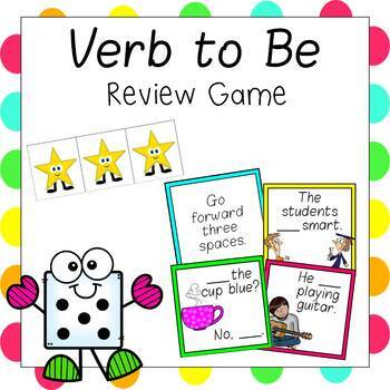 Verb to Be ESL Review Game