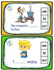 Verb to be Task cards