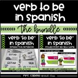 Verb to be in Spanish Bundle - Verbo Ser y Estar