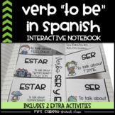 Verb to be in Spanish Interactive Notebook - Verbo Ser y Estar