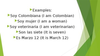 Verb to be in Spanish for Spanish language learners