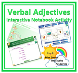 Interactive Verbal Adjectives Activity for IWB