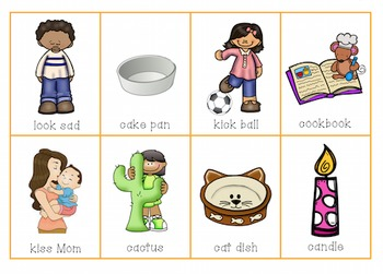 Verbal Apraxia Packet 2 Words and Phrases
