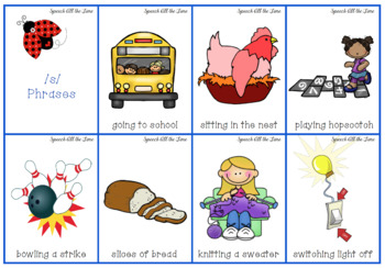 Verbal Apraxia Packet 4:  Noun and Verb Phrases